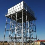 Elevated Sectional Panel Tank